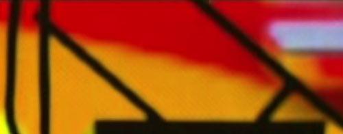 Closeup of the colours