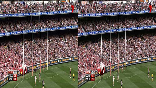 Frame from AFL 2010 Grand Final Draw
