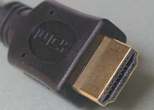 Kogan HDMI cable plug