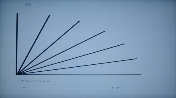 Diagonals test pattern - 3D