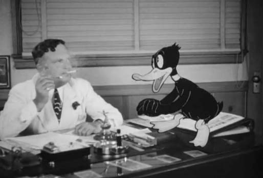 You Ought To Be In Pictures - Cigarette with Daffy