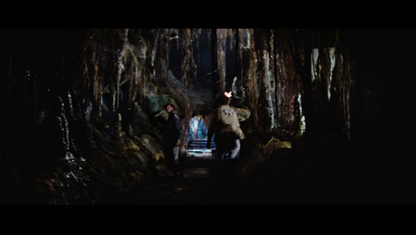 Full frame of the cave walk from Raiders