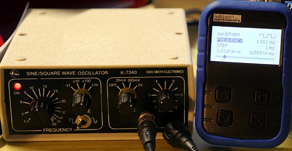 Signal Generators, old and new