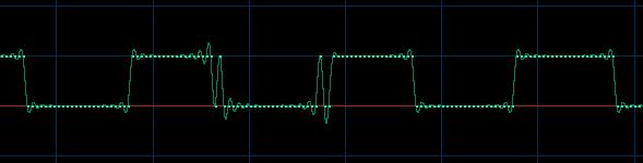 980Hz - 8 bits - no dither wave form